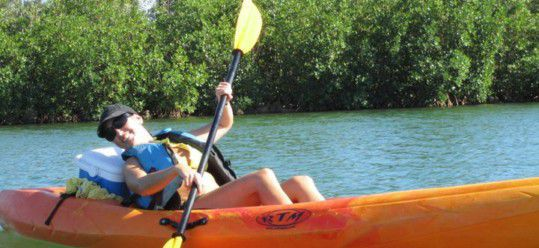 Whatever Floats Your Boat OR Better Said Kayak