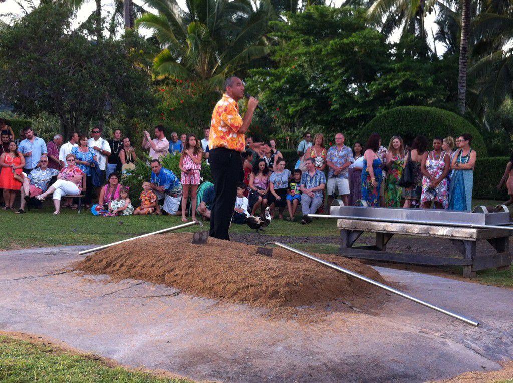 Smith Family Luau in Kauai