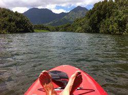 Hanalei River Kauai