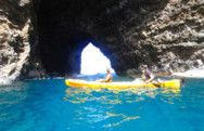 Open Ceiling Cave Na Pali Kauai