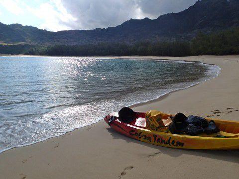 Kayaking_to_Kipu_Kai_Kauai_by_Author_Heidi_Siefkas