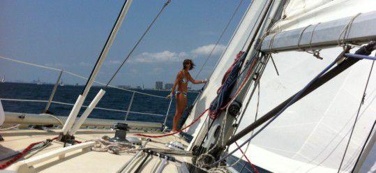 Tacking, Hoisting, Winching, Reefing, & Reaching – All in a Day's Regatta