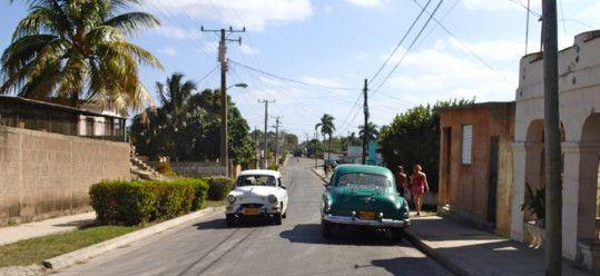 Street in Matanzas Cuba