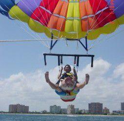 Up, Up, Up and Away…Parasailing Take 2