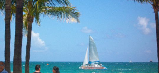 Spirit of Fort Lauderdale Sailing By