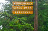 Minnewaska State Park entrance
