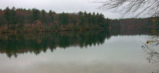 Walden Pond November 2009