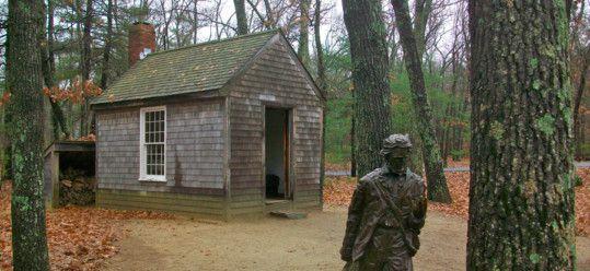 Thoreau's Cabin at Walden