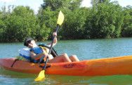 Ms Traveling Pants at Oleta River State Park