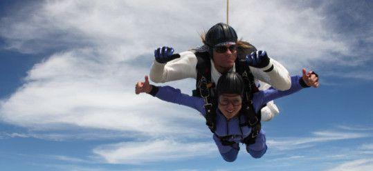 Geronimo, Ms Traveling Pants Skydives