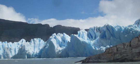 My 1st Peek at a Glacier