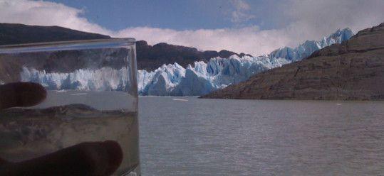 Grey's Glacier and a Pisco Sour