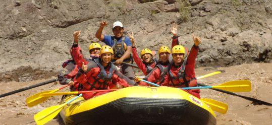 Whitewater Rafting Rio Mendoza