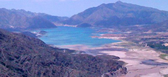 Lake Potrerillos, near Mendoza Argentina