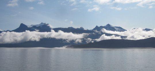 Lynn Canal near Auke Bay Alaska
