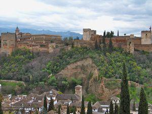 Granada, Alhambra, and Tapas Olé