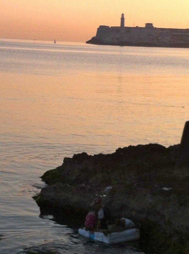 Creative Fishing Havana Cuba
