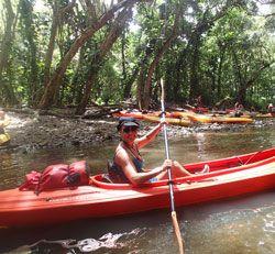 Kayak Kauai on the Wailua River
