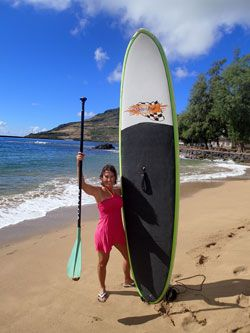 Stand-Up Paddleboarding in Kauai
