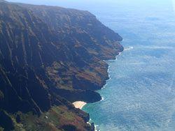 Na Pali Coast Kauai via Helicopter