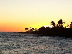 Sunset in Poipu Kauai
