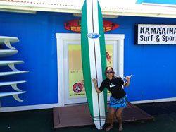 Surf Lesson in Kauai