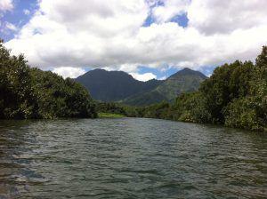 Paddleboarding_Kauai_Hanalei_River