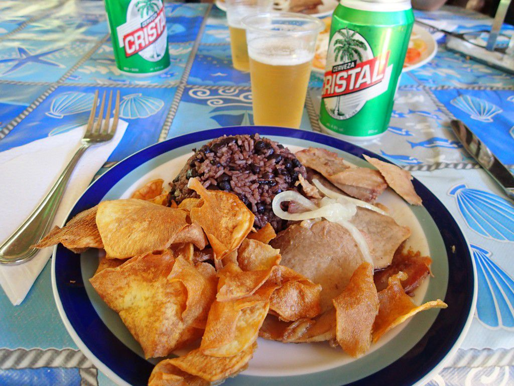 Cuban_Food_Pork_Rice_Beans_Yuca_and_Cold_Crystal