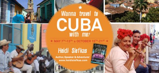 Year of the Rooster Adventures – Cubicle to Cuba New Book, Tours to Cuba, and More