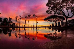 Hawaii_Colorful_Sunset