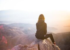 Woman-Mountaintop